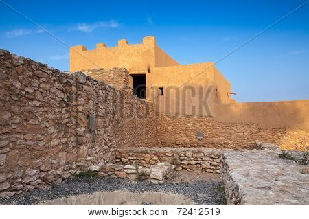 Iberian Citadel Of Calafell, Ancient Fortress In Catalonia, Spain
