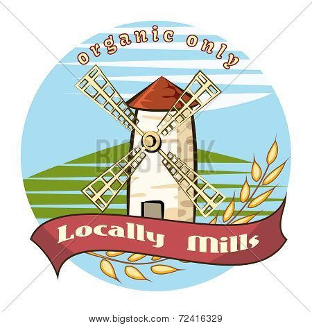 Locally Mills - Organic only
