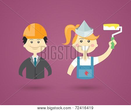 Professions- Engineer and Interior Decorator