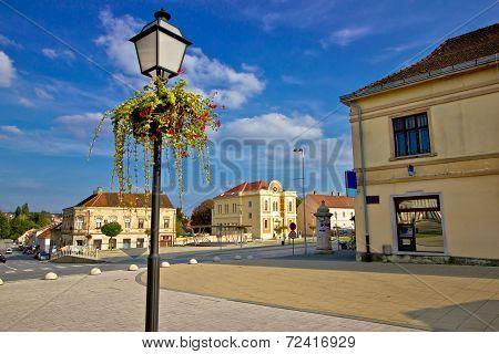 Town Of Krizevci In Croatia