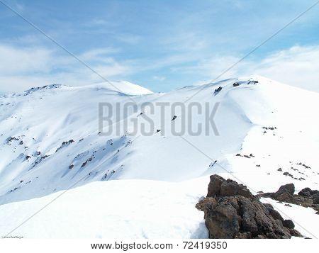 Tongariro Snowscape