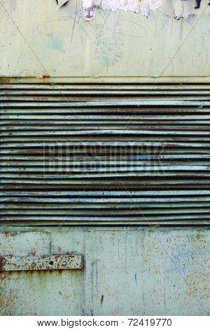 Grunge Metal Grid Texture