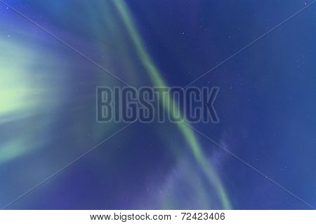 Nothern Lights Aka Aurora Borealis Photographed In Iceland