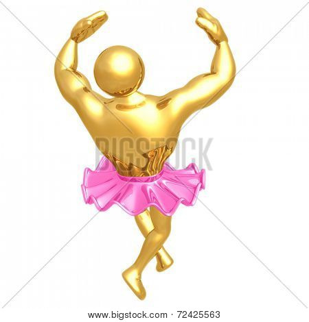 Strong Man Prima Ballerina