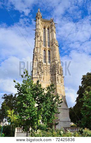 Paris. Saint-jacques Tower