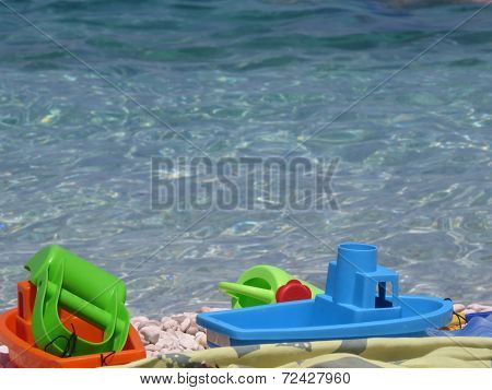 Toys On The Sea