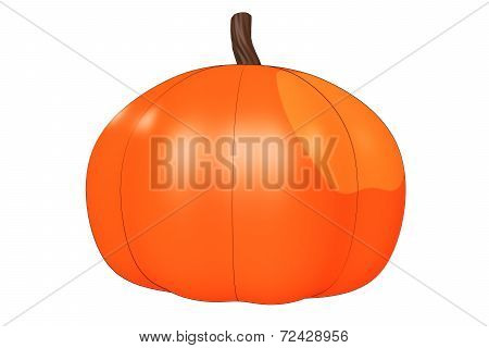 Illustrated Pumpkin