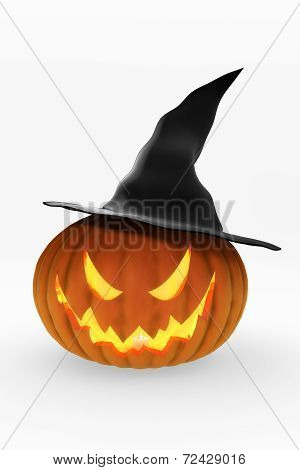 Jack O'Lantern and Witch's Hat