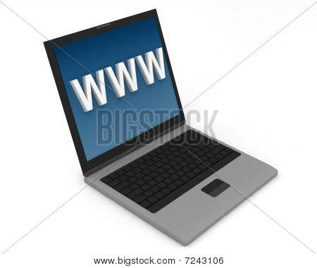 Laptop WWW