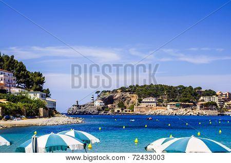 Puerto de Soller in Mallorca
