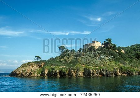 Small Island Of Port Cros