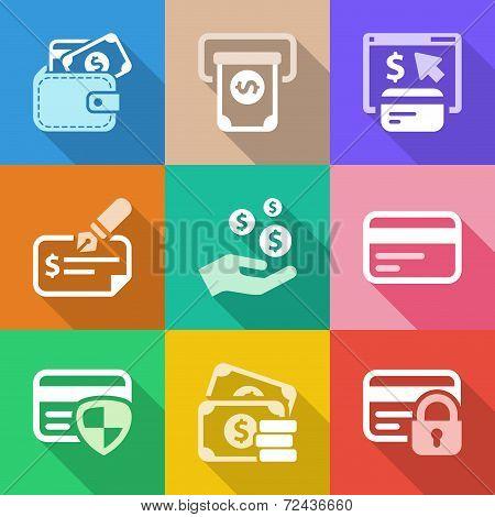 Flat Money Iconset