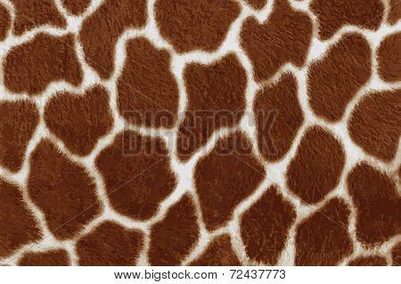 Giraffe skin background.