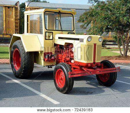 Restored Vintage Tractor