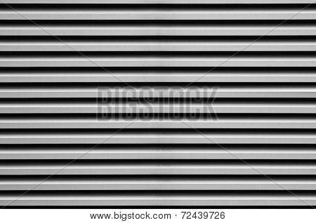 The aluminum corrugated sheet for building facade