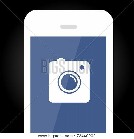 Smartphone vector icon