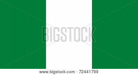 Current National Flag Of Nigeria