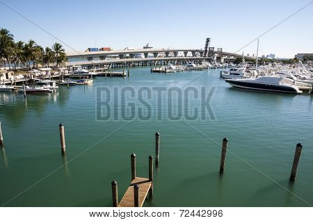 Biscayne Bay Marina In Miami