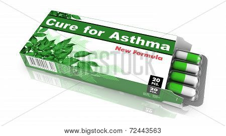 Cure for Asthma - Pack of Pills.