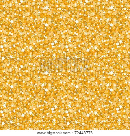 vector golden shiny glitter texture seamless pattern background