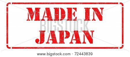 Made in Japan on Red Stamp.