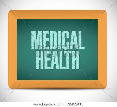 Medical Health Message Illustration Design