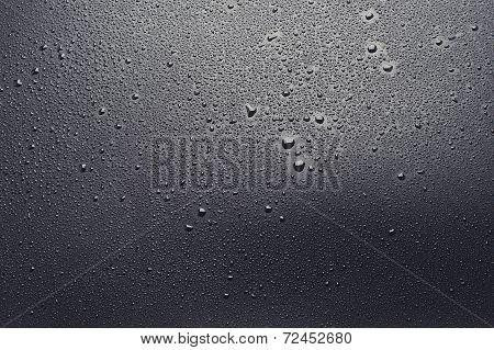 Wet Black Background