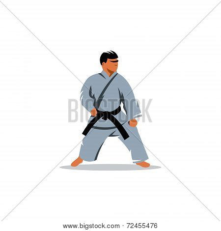 Karate Vector Sign
