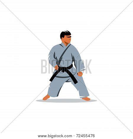 Karate Vector Sign