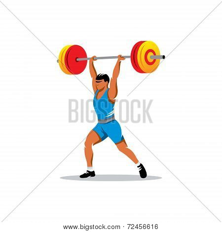 Weightlifting Vector Sign
