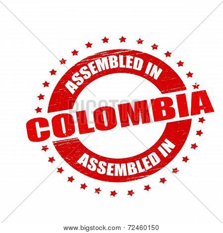Assembled In Colombia