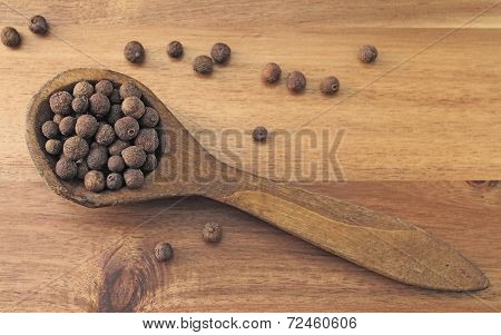 Aromatic allspice peppers