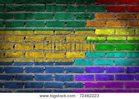 Dark Brick Wall - Lgbt Rights - Gabon