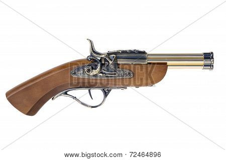 Old Six-barreled Musket Gun