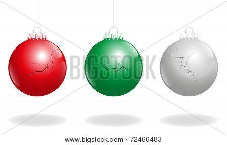 Broken Christmas Balls