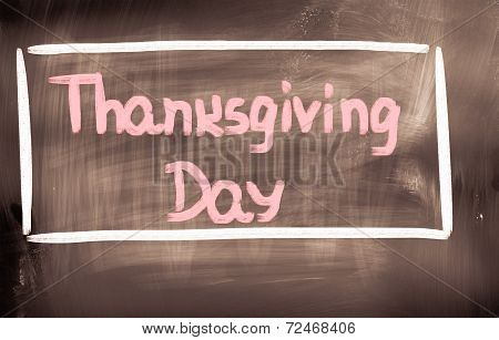 Thanksgiving Day Concept