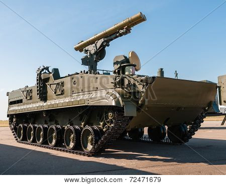 Russian Tank Support Fighting Vehicle BMPT-72