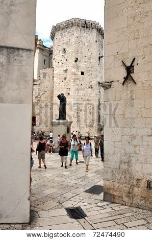 The Old Town (stari Grad) In Split, Croatia
