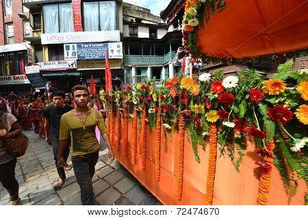 Hindu Celebration In Nepal