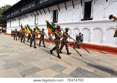 Nepali Soldiers