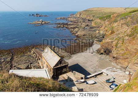 The Lizard coast Cornwall England UK south of Falmouth and Penryn