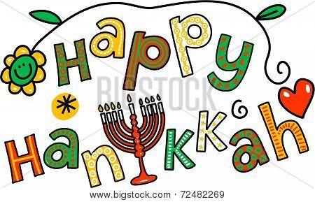 Happy Hanukkah Clip Art