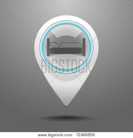 Glossy Dormitory Icon