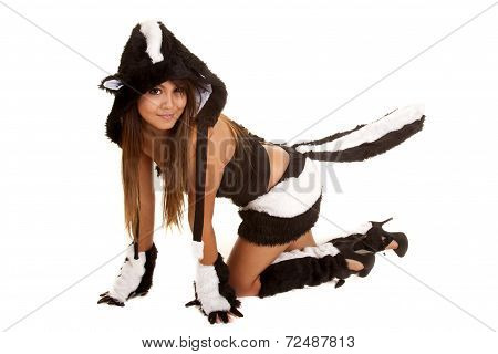 Crawling Skunk Costume