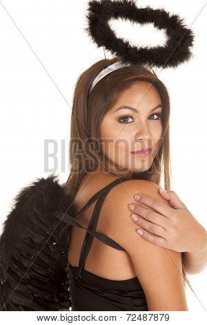Woman Black Angel