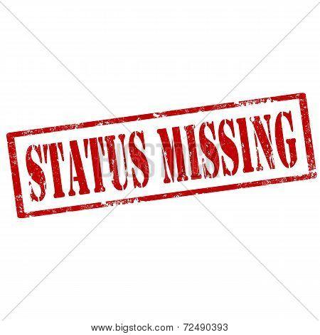 Status Missing-stamp