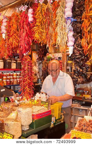 Spice Store Owner