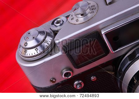 Old Camera. Camera Issue 40-60 Years.