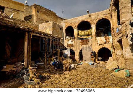 Fes Leather Tannery