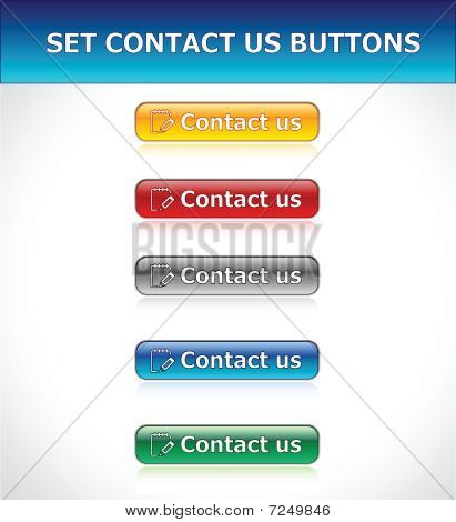 Set Contact Us Buttons